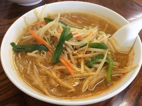 足利麺辛口味噌ラーメン激辛