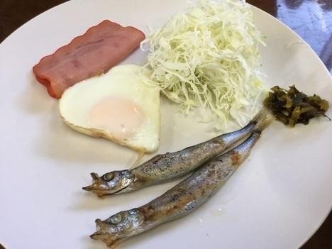 慶良間諸島阿嘉島川道朝食