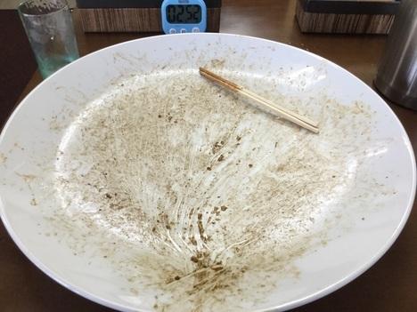 ばそき屋鹿沼キロ盛チャレンジメニュー卵焼きそば完食