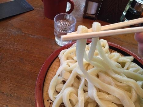 武蔵野うどん田舎や下野うどん麺リフト