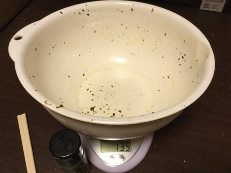 足利さくら焼きそばデカ盛り3kg弱完食