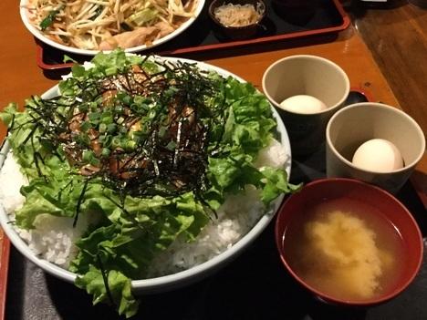 上州屋ぷちオフいけさんサーモン丼Wごはんメガ