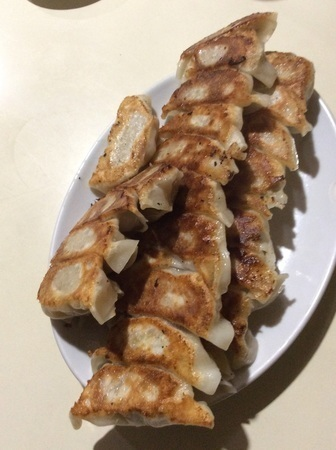 長岡中華大吉大盛り餃子
